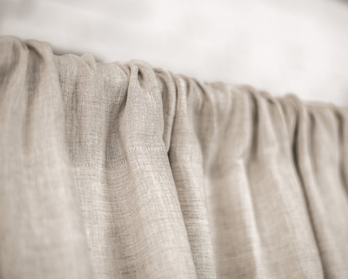 Linen Rod Pocket Curtains & Linen Drapes You'll Love in 2021 - Linen Couture