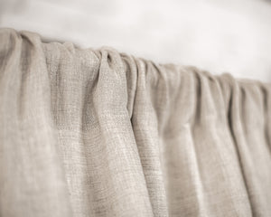 Linen Rod Pocket Curtains & Linen Drapes You'll Love in 2021 - Linen Couture Boutique