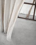 Light Natural Linen Rod Pocket Curtain & Linen Drape You'll Love in 2020