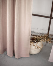 Load image into Gallery viewer, Pale Pink Tab Top Linen Curtain & Drape - Linen Couture Boutique