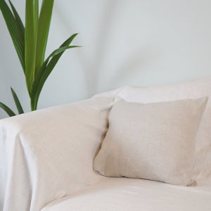 Pillowcase from natural softened linen - Linen Couture Boutique