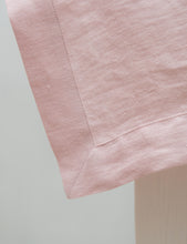 Load image into Gallery viewer, Pale Pink Linen Tablecloth - Linen Couture