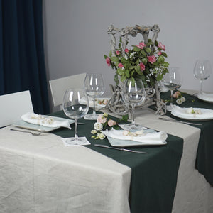 Natural Linen Tablecloth - Linen Couture