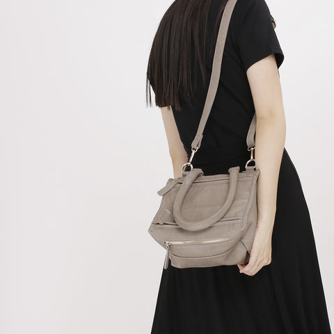 Khaki Indra Crossbody Bag - Small