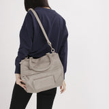 Khaki Indra Crossbody Bag - Large