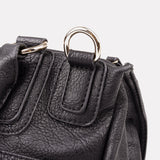 Black Indra Crossbody Bag - Small