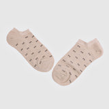 Brown and Grey Ribbon Ankle Socks (2 Pairs)