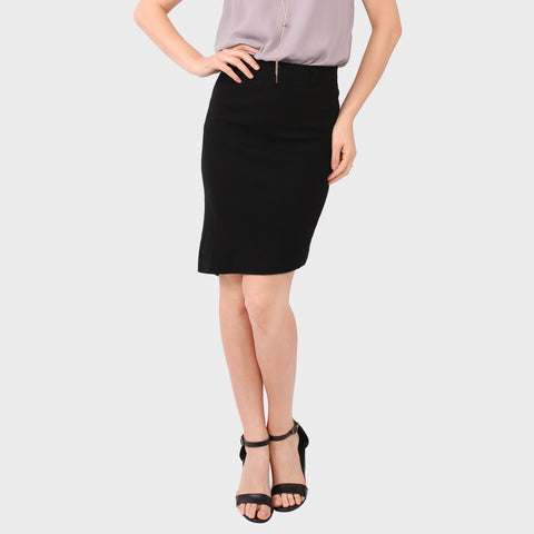 Black Asymmetrical Belle Skirt