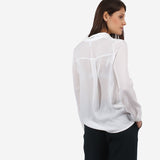 Frilled Neckline Top