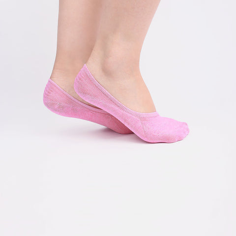 Pink Invisible Socks (2 pairs)