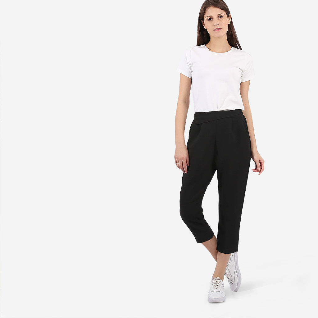 Black Crop Pants