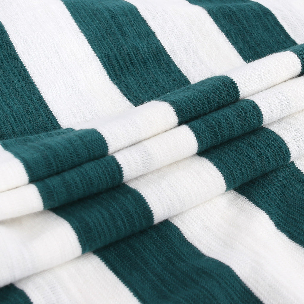 Green Vanilla Stripe Tee