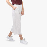 White Striped Culottes