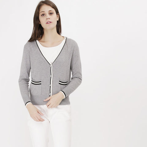 Grey Quela Cardigan
