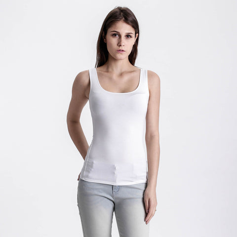 White Basic Solid Tank