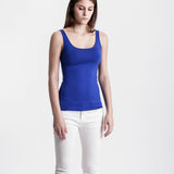 Blue Basic Solid Tank