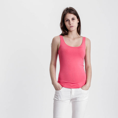 Pink Basic Solid Tank