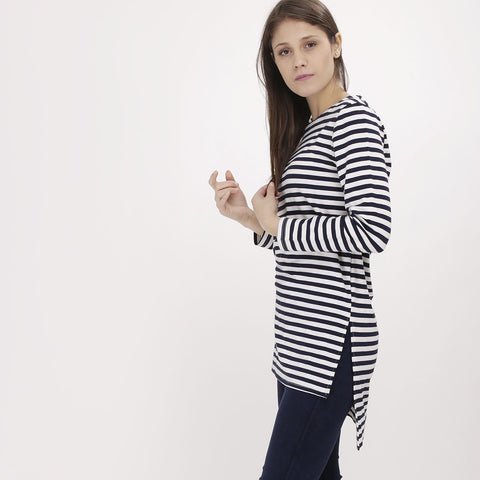 Monochrome Stripe Top