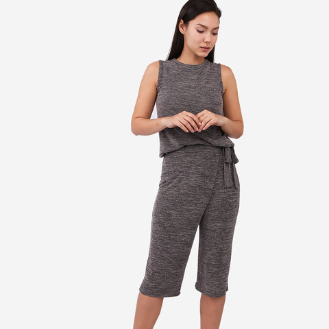 Grey Two-Piece Playsuit