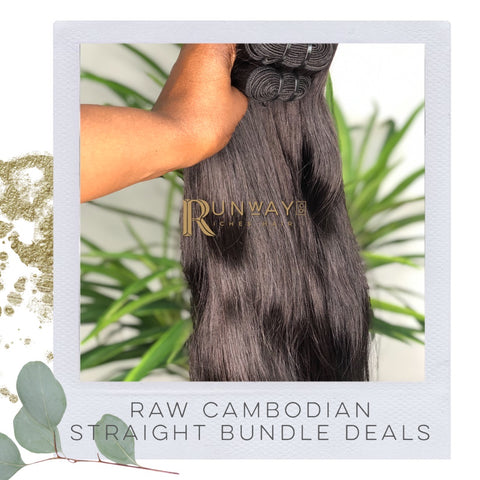 Raw Cambodian Straight Bundle Deals