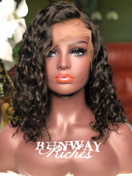 Wavy Curly HD Lace Unit