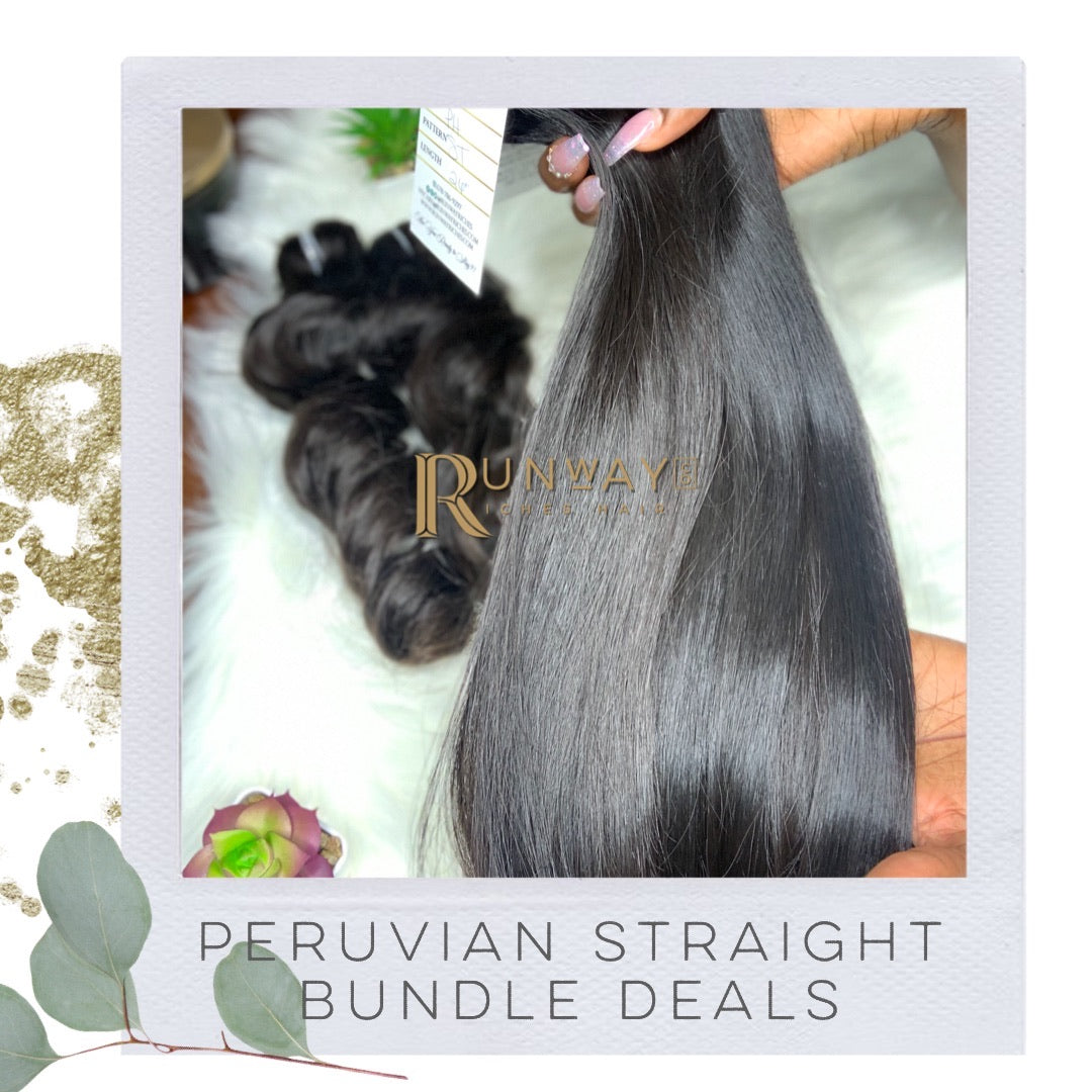 Peruvian Straight Bundle Deals