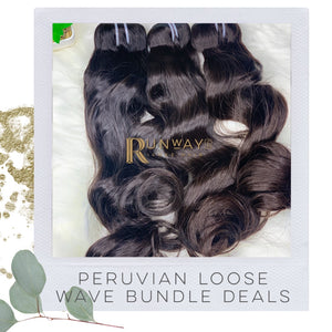 Peruvian Loose Wave Bundle Deals