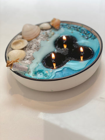 Candle Bowl - Ocean