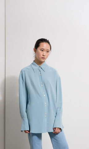 Penny Sage Bonny Shirt Carolina Blue