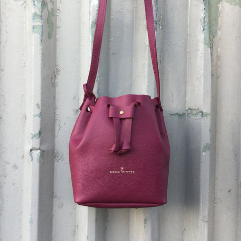 Good Winter GW1 Bucket Bag Small Magenta Limited Edition