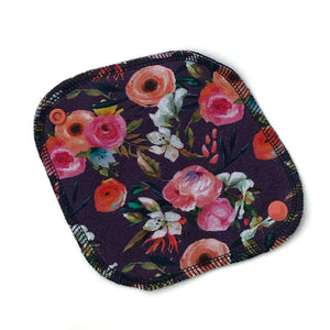 Cloth Liner: Bold Grape Floral