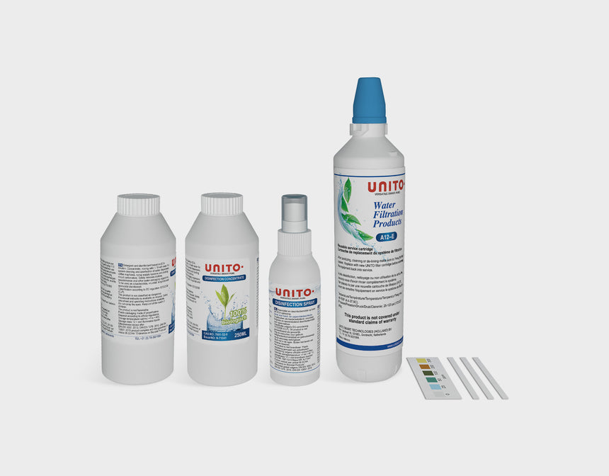 UNITO Disinfection kit for UNITO watersystem