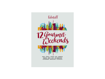 Falstaff Reisebuch »12 Gourmet Weekends« Band 1