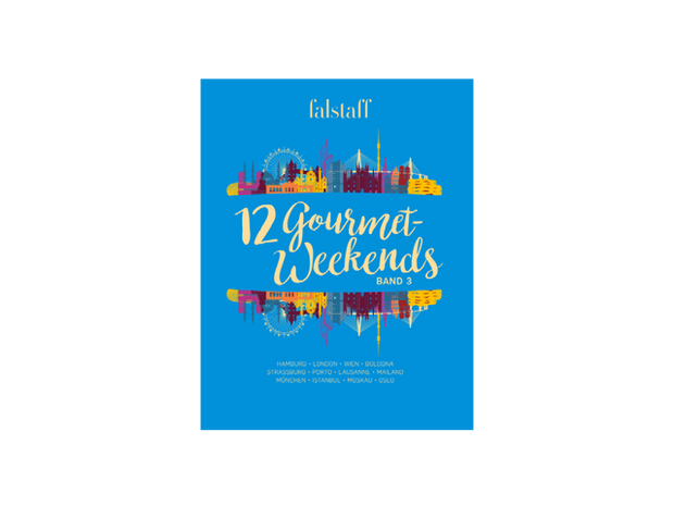 Falstaff Reisebuch »12 Gourmet Weekends« Band 3