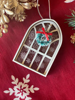 Cathedral Window/Snowflake Ornament