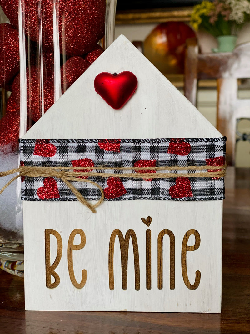 Be Mine Valentine's Day House