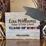 Graduation Reclaimed Barn Wood Plaque