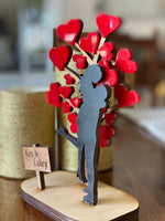 Custom Couple Love Tree for Wedding or Anniversary