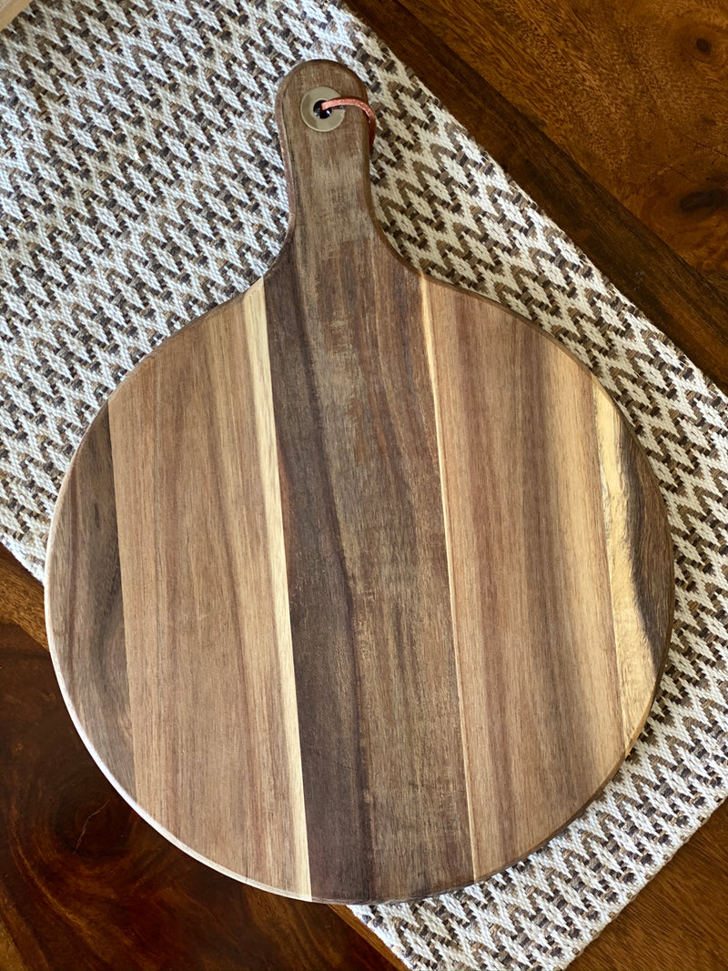 Personalized Acacia Wood Cutting Boards