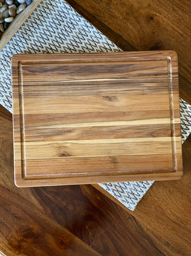 Personalized Teak Wood Cutting Boards