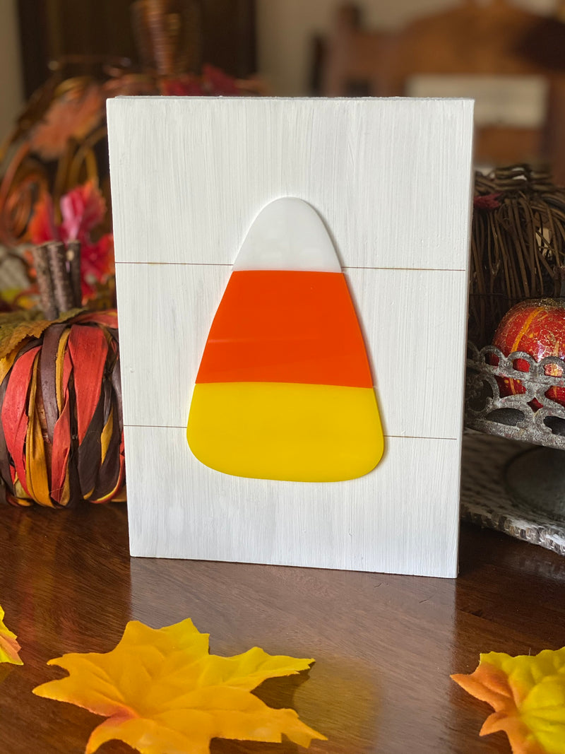 Candy Corn Shelf Sitter