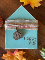 Happy Fall Wood House