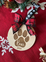 Pet Ornament with Bow