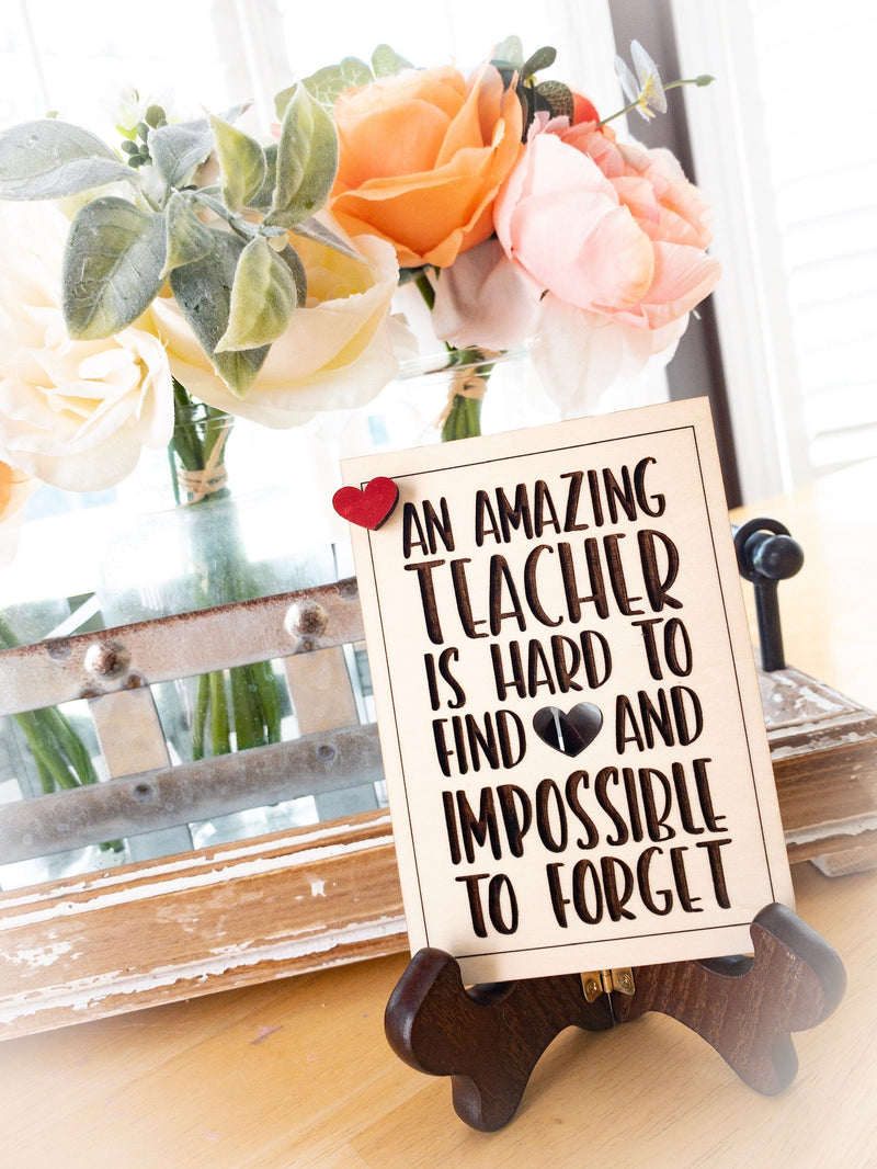 Teacher Appreciation Gift - An Amazing Teacher