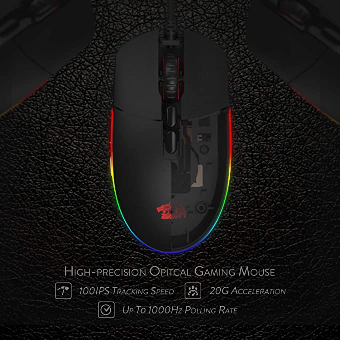 Redragon M719 invader Wired Gaming Mouse best price in Pakistan