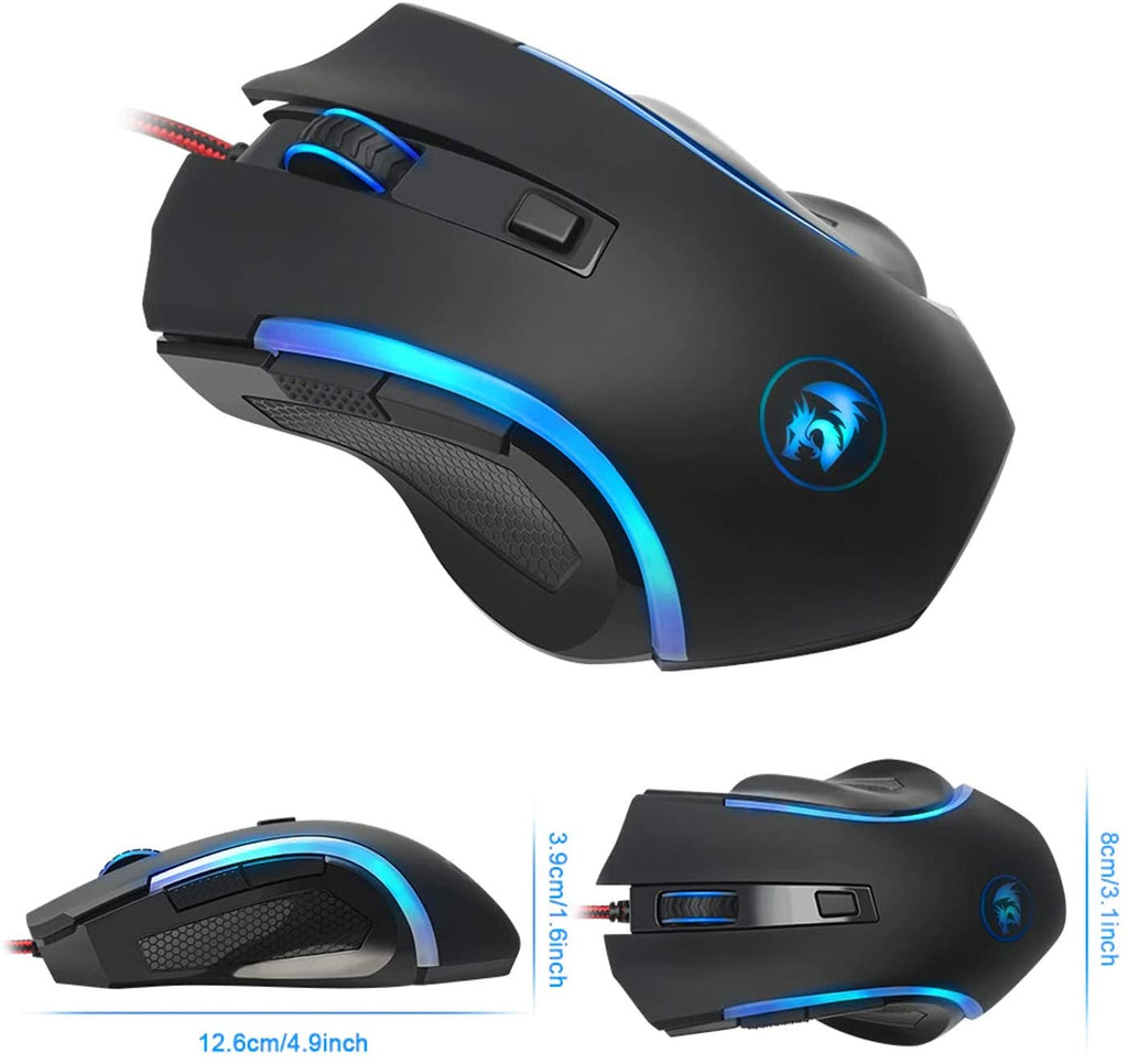 The Redragon M606 nothosaur 3200DPI gaming mouse best price in pakistan