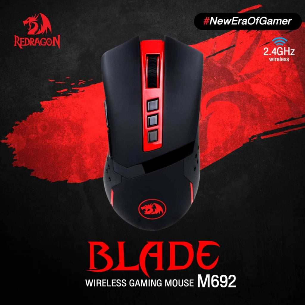 Redragon BLADE M692-1 Wireless 9-Button Programmable Gaming Mouse