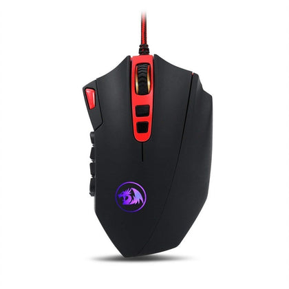 Redragon M901-1 PERDITION 2 24000 DPI MMO RGB LED Wired Gaming Mouse
