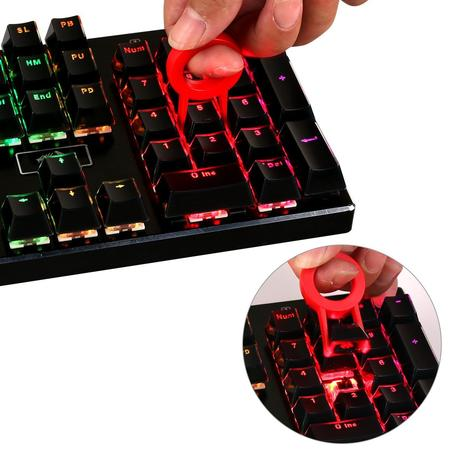 Redragon 105B Keycaps for Mechanical Switch Keyboards with Key Puller