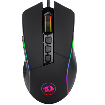 Redragon M721 Pro Lonewolf2 Gaming mouse, Wired Mouse RGB Lighting
